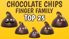 Watch and enjoy Finger Family Song, Family Songs, Finger Family Collection, Baby Wearing, Chips, Cupcakes, Watch, Clock, Potato Chip
