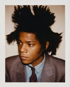 """I don't think about art when I'm working. I try to think about life.""-BasQuiat"