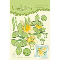 Vágósablon 450379, Lea'bilities / Multi die flower 007 narcis -  (1 csomag)