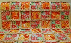 rag quilts | what i love about her rag quilts is that instead