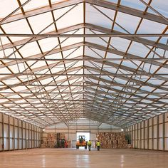 Losberger's industrial & storage tents allow you to remain independent in future planning help you avoid tying up valuable capital Hall Construction, Roof Covering, Industrial Storage, Brick And Mortar, Side Wall, Warehouse, Supply Chain, Tents, Building