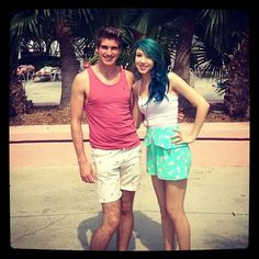 Joey and Kalel at playlist live