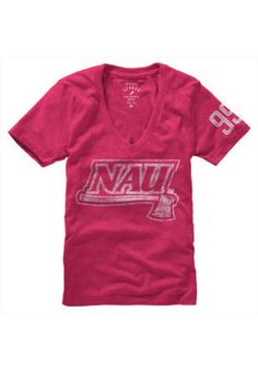 Pink lovers delight! Wear your favorite color and cheer on NAU too.
