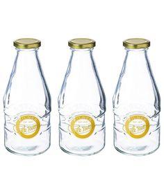 Buy Kilner 568ml Milk Bottles - Set of 3 at Argos.co.uk - Your Online Shop for Food storage.