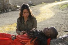 Image of Adria Arjona and Florence Kasumba in Emerald City Series (7)