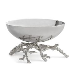 Michael Aram - Ocean Coral Serving Bowl from LuxDeco