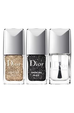 sparkling nail powders set