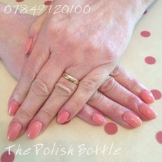 Gelish Pink Smoothie over GHG (Gelish Hard Gel) extensions