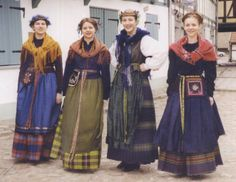 FolkCostume&Embroidery: Costume and embroidery of Lithuania Minor, Mažoji Lietuva, or Klaipeda region, Lithuania