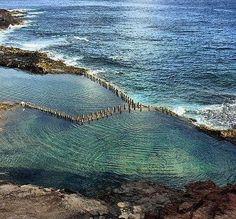 Piscinas naturales de Galdar, Gran Canaria, Islas Canarias, Spain.