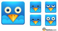 Free Icons: Twitter Square Icons