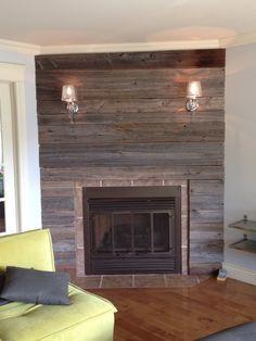1000 images about maison on pinterest pallets wood - Contour de cheminee decoratif ...