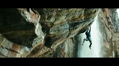 Who needs CGI when you have Chris Sharma and Dani Andrada as stuntmen? Watch these guys climb alongside 3,200-foot Angel Falls in Venezuela—the tallest waterfall…