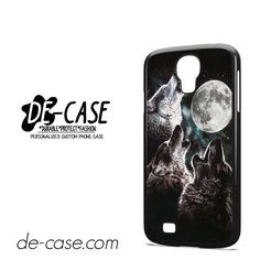 Mountain's Three Wolf Moon DEAL-7443 Samsung Phonecase Cover For Samsung Galaxy S4 / S4 Mini