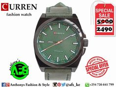 All About Curren  ✌  ⌚⌚⌚⌚⌚ #mordernman #classicman #businessman #perfectgift #perfectstyle #afs #anthonys #afswears #fashionstyle This Curren Quartz Leather Leisure Watch is a great choice for any occasion. _ Price Offer Kes :2490/= Contact us :0726641799 Location :CBD Moi Ave Street. Delivery Countywide. _ _