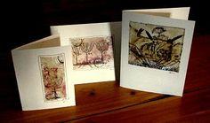 cards using Tea Bags