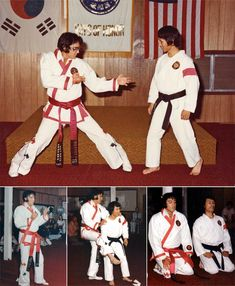 Elvis Presley with his karate teacher Khang Rhee 1974.