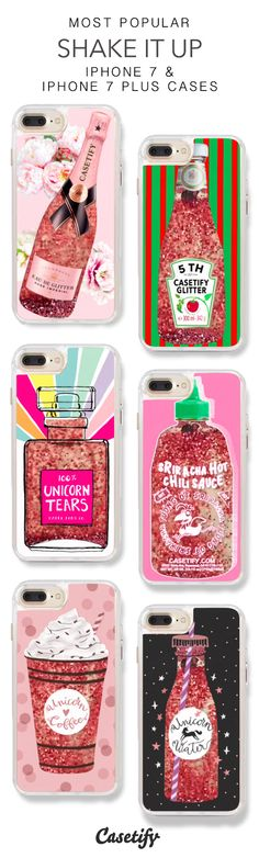 Most Popular Shake it Up iPhone 7 Cases & iPhone 7 Plus Cases. More Protective L - Glitter Iphone Plus Case - Glitter Iphone Plus Case ideas - Liquid Iphone 6 Cases, Glitter Iphone 6 Case, Silicone Phone Case, Iphone 6 Plus Case, Hard Phone Cases, Cool Iphone Cases, Cute Phone Cases, Accessoires Iphone, Coque Iphone