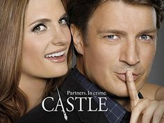 Castle TV show with Richard Castle (Nathan Fillion) is cute and interesting. Nice twist for another detective show. Tv Castle, Castle 2009, Castle Tv Series, Castle Tv Shows, Watch Castle, Castle Wall, Book Series, Richard Castle, Kate Beckett