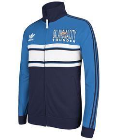 adidas Men's Oklahoma City Thunder Full-Zip Track Jacket