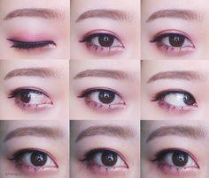 Girl's Generation Taeyeon makeup IG: aileenbeauty_v