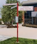 ASI's Compass exterior modular signage system is ideal for green building environments as it is durable, can be easily updated or repaired, ...