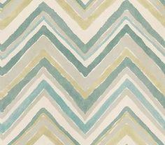 Zigzag wallpaper by Sanderson