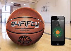 10 Unexpected, High-Tech Gifts For Him » Smart Sensor Basketball Pack, the ultimate gift for ballers