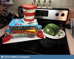 decorate sheet cakes like book covers for cake