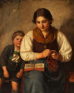 Художник Franz von Defregger (1835-1921) (113 работ)