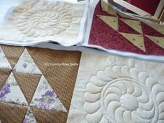 Country Rose Quilts: Quilt as you go - Tutorial