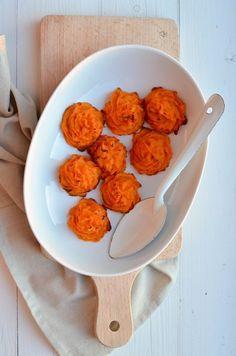 Pommes Duchesse van Zoete aardappel - Uit Paulines Keuken #sweetpotato #healthy