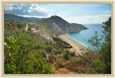 Milos beach, Lefkada  http://www.thousandwishes.net/wp-content/uploads/2013/10/14_milos_beach_lefkada.jpg