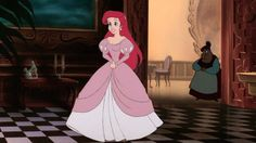 We love pink on Ariel, but the sleeves and layered skirt overwhelm her frame. #26