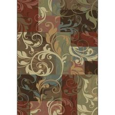 Tess Multi 7 ft. 10 x 10 ft. 10 Area Rug-3VC6002440 at The Home Depot $259