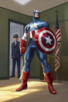 Captain America origin by JPRart on deviantART