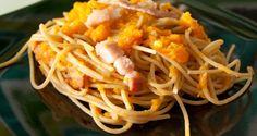 Pasta con zucca e pancetta - AromiFragolosi
