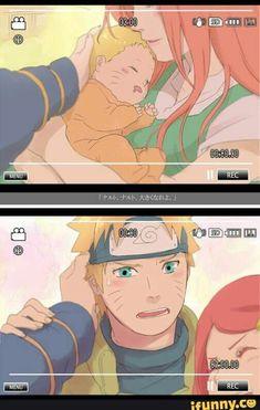 Ahhhhhhhh Naruto then and now Naruto Vs Sasuke, Naruto Uzumaki Shippuden, Naruto Shippuden Characters, Naruto Fan Art, Naruto Anime, Naruto Comic, Naruto Cute, Minato Kushina, Team Minato