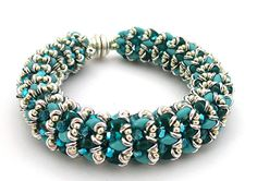O beads are on sale this week at Bloomin Beads Etc. Here's something you can make with them