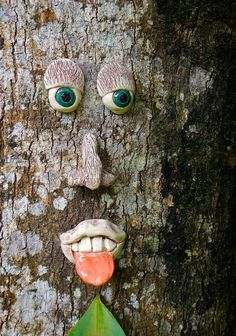 Naughty Tree Face by Uturn on Etsy, $30.00