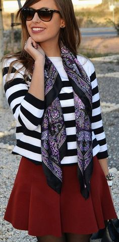 Paisley scarf--love it