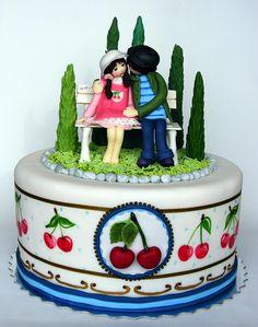 Cherry lovers cake | Flickr - Photo Sharing!