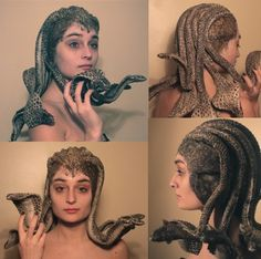 THIS! This is what I want my Medusa costume to look like.