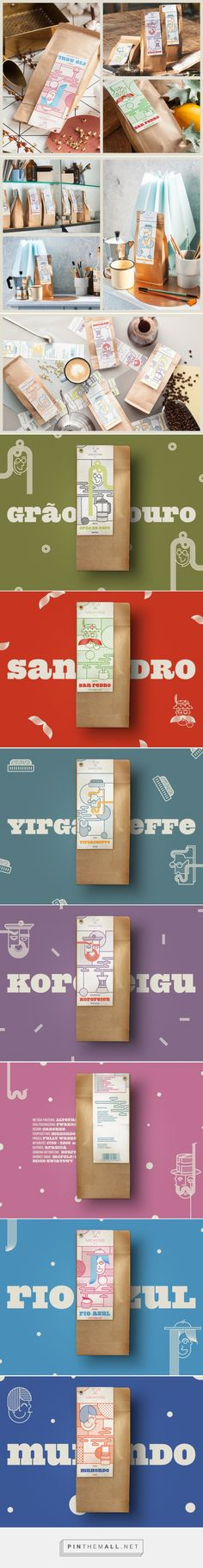 Wroasters Coffee - Packaging of the World - Creative Package Design Gallery - http://www.packagingoftheworld.com/2017/02/wroasters-coffee.html