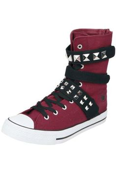 EMP Black Premium, #Zapatillas #rojo #Botas #Rock http://emp.me/ARD