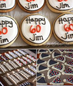 Surprise! (60th Birthday Cookies)