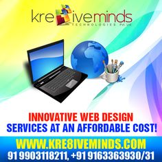 Avail #webdesign service at an affordable cost! http://www.kre8iveminds.com/