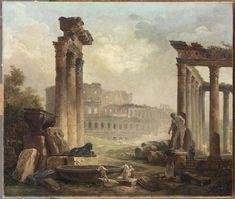 Hubert Robert – Among Ruins | Frank T. Zumbachs Mysterious World
