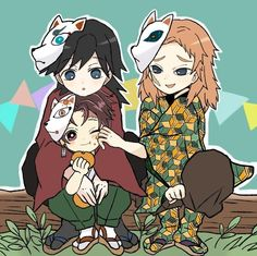 Kimetsu no Yaiba (Demon Slayer) Image - Zerochan Anime Image Board Anime Angel, Anime Demon, Manga Anime, Anime Art, Chibi, Deadman Wonderland, Familia Anime, Gekkan Shoujo, Demon Hunter
