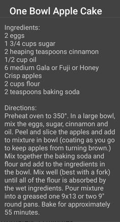 Apple Cake Recipes, Cake Mix Recipes, Apple Desserts, Cookie Desserts, Pumpkin Recipes, Delicious Desserts, Dessert Recipes, Bolo Normal, Mug Cake Microwave